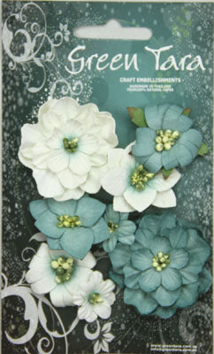 Green Tara - Fantasy Bloom Flower Pack - Blue