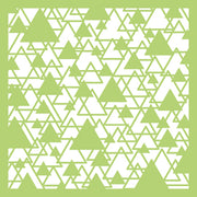 Kaisercraft Designer Template - Abstract Triangle 6x6