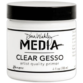 Ranger - Dina Wakley Media Gesso - Clear 4oz Jar