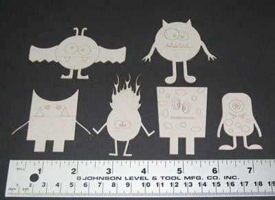Monsters (6pc)