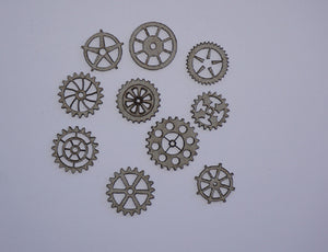 Steampunk Gears Small
