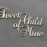 Sweet Child of Mine Title