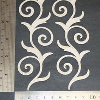 Swirly Leaf Flourish
