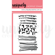 Uniquely Creative Stamp - Scribble Mark Marking Mini Stamp