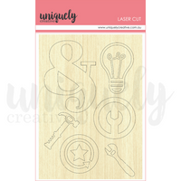Uniquely Creative - Country Roads Wood Laser Cut