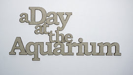 A Day at the Aquarium Title