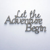 Let the Adventure Begin Title