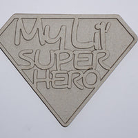 My Lil' Super Hero Title