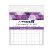 X-Press It Foam Mounting Squares - 12mmx12mm