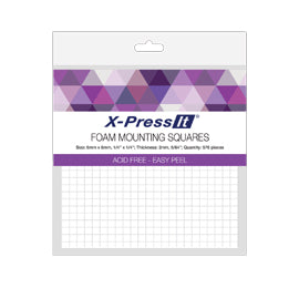 X-Press It Foam Mounting Squares - 6mmx6mm