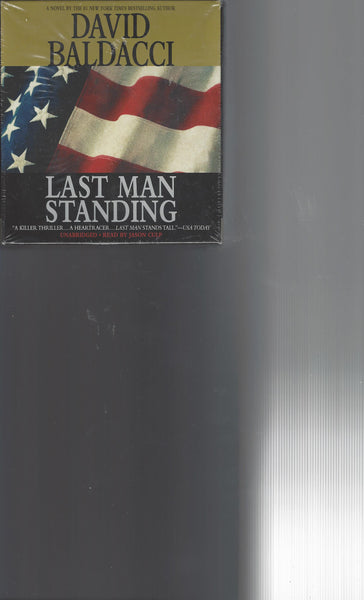 Last Man Standing by David Baldacci (new audio CD)