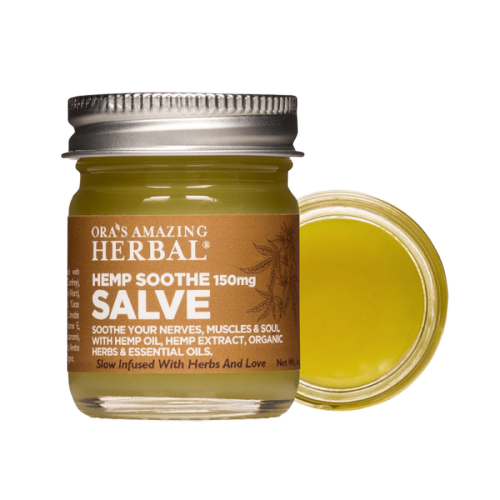 Hemp Soothe Salve, THC Free Hemp Extract and Herbs