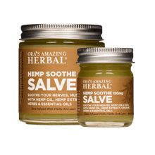 Load image into Gallery viewer, Hemp Soothe Salve, THC Free Hemp Extract and Herbs