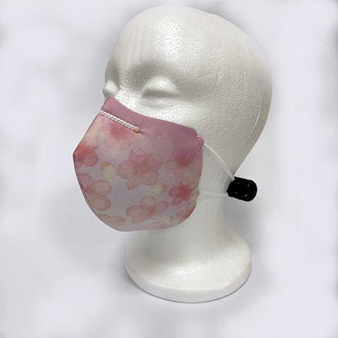 Image of Flores | Mascarillas Lavables 2021 para adultos| UNE 0065