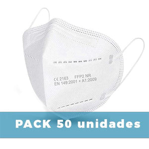 Mascarillas  FFP2  Adulto| Pack 50 u.  | Al por Mayor