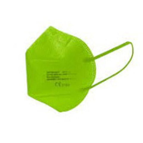 Verde | Mascarillas  FFP2 de Colores | Adulto | CE 2163 EN 149:2001+A1:2009