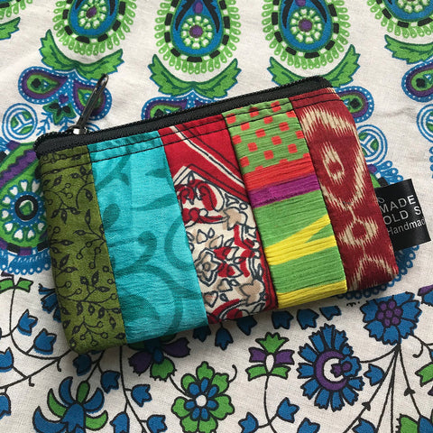Recycled Sari Purse