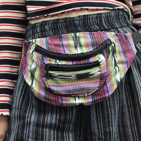Colourful Cotton Bum Bag