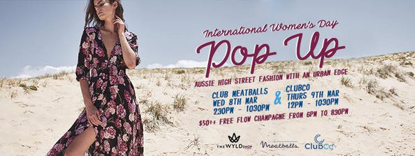Australian fashion pop up shop Singapore events
