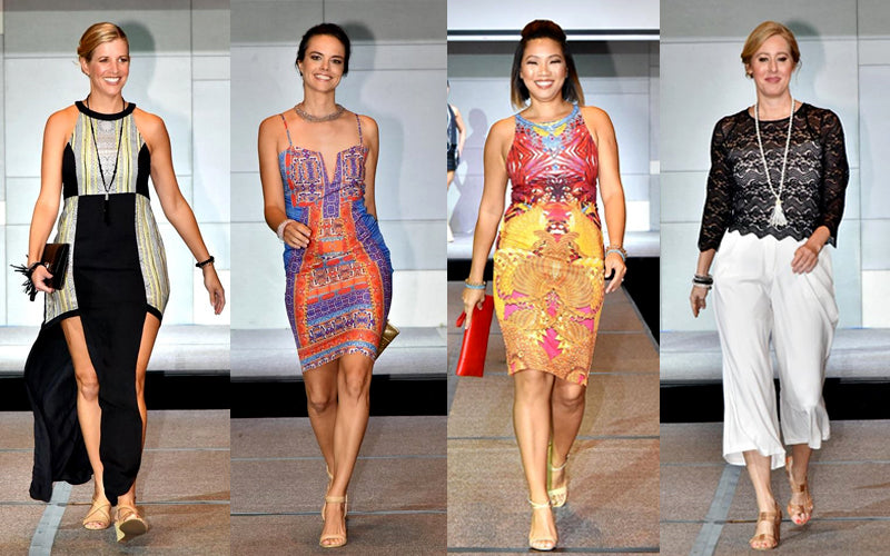 "AWA ""Straits Chic"" Fashion Runway Outfits"