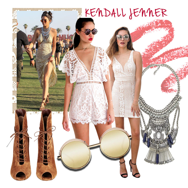 Kendall Jenner's Outfit at Coachella 2016