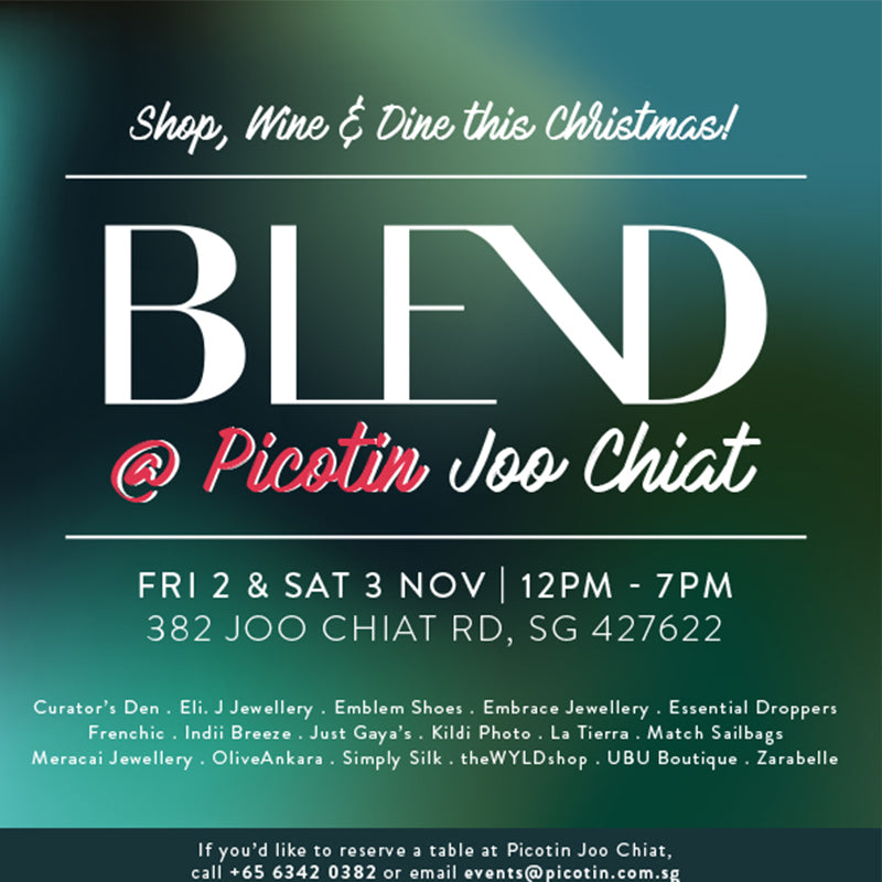 BLEND is back with a Shopping Event on Singapore's East Coast!