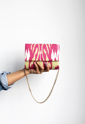 FRANKITAS SMALL SABEENA CLUTCH - POPSICLE