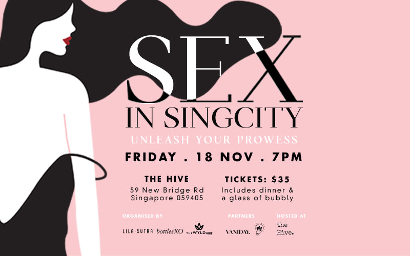wyldshop lila sutra bottlesxo Sex in SingCity event