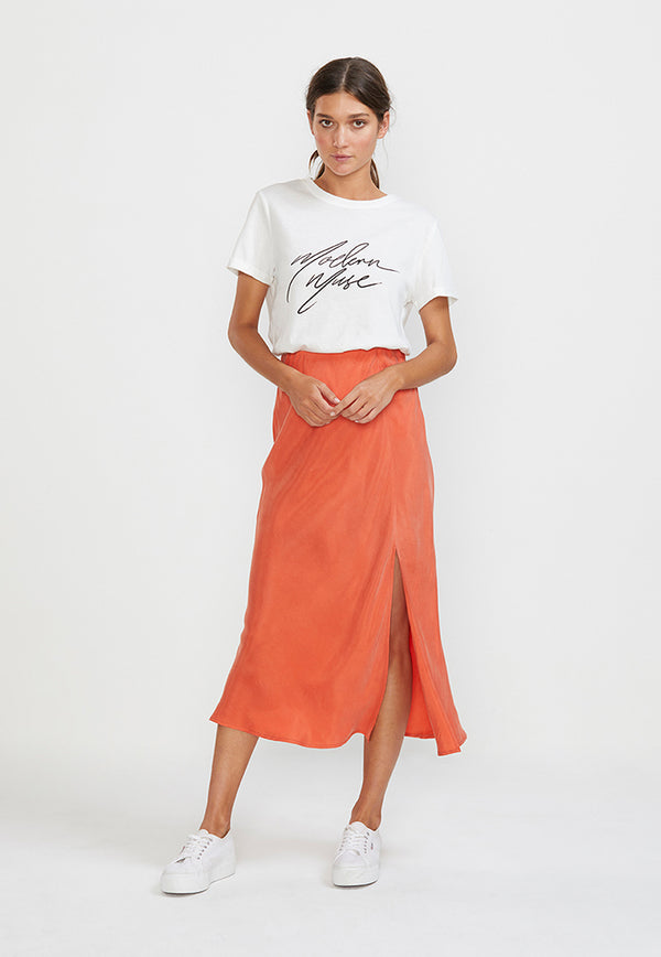 Staple the Label Amelie Bias Slip Skirt