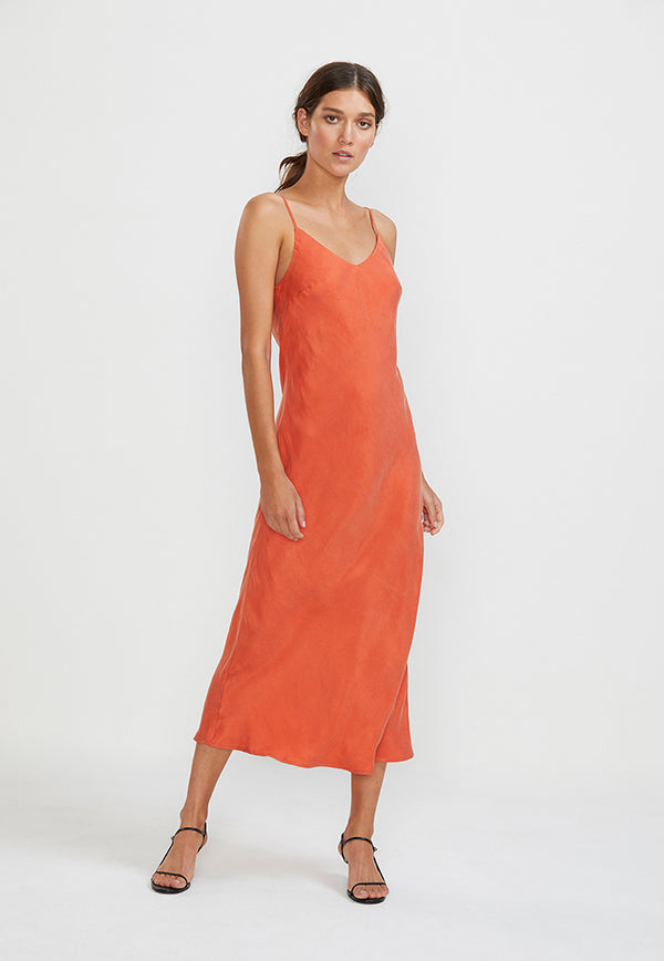 Staple the Label Amelie Bias Slip Dress