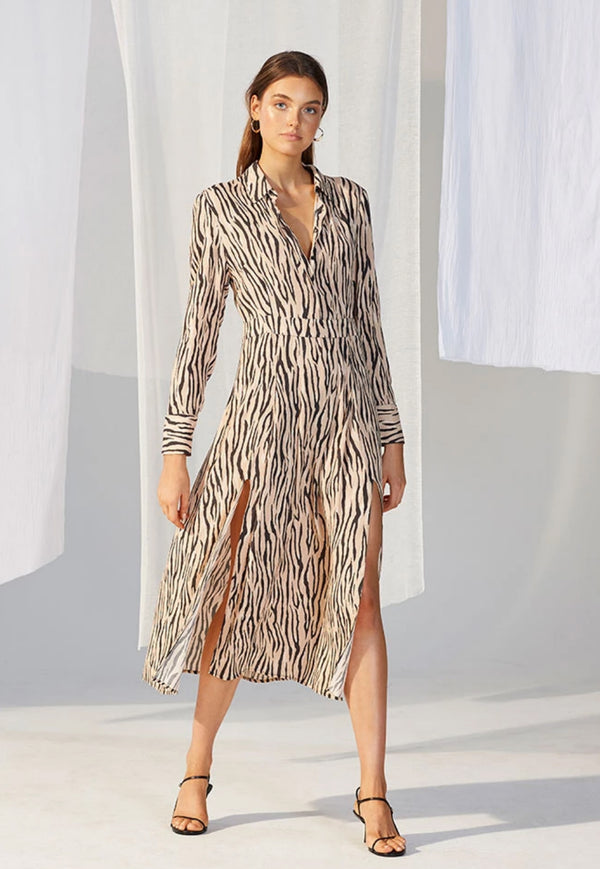 Staple the Label Savannah Midi Shirt Dress