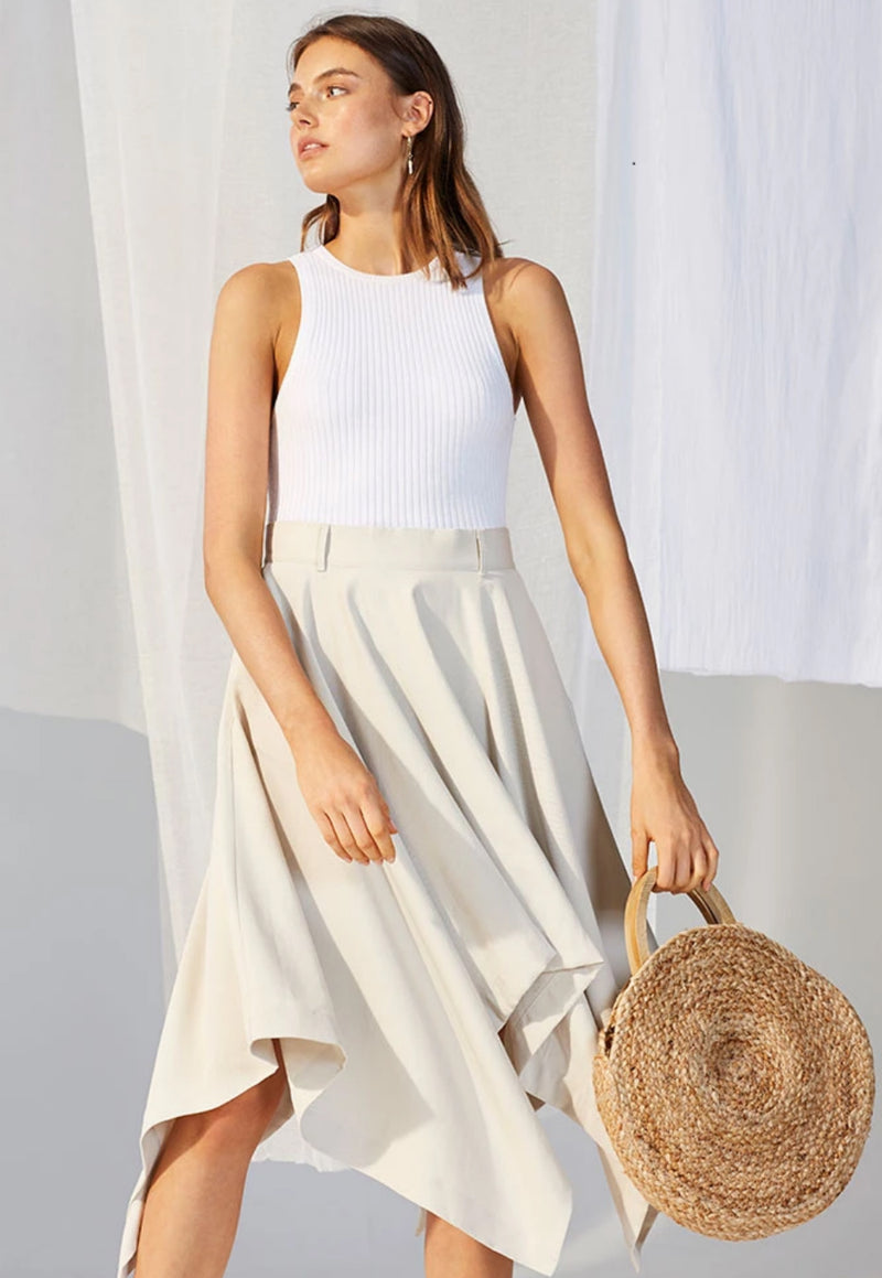 Staple the Label Atlas Asymmetrical Skirt