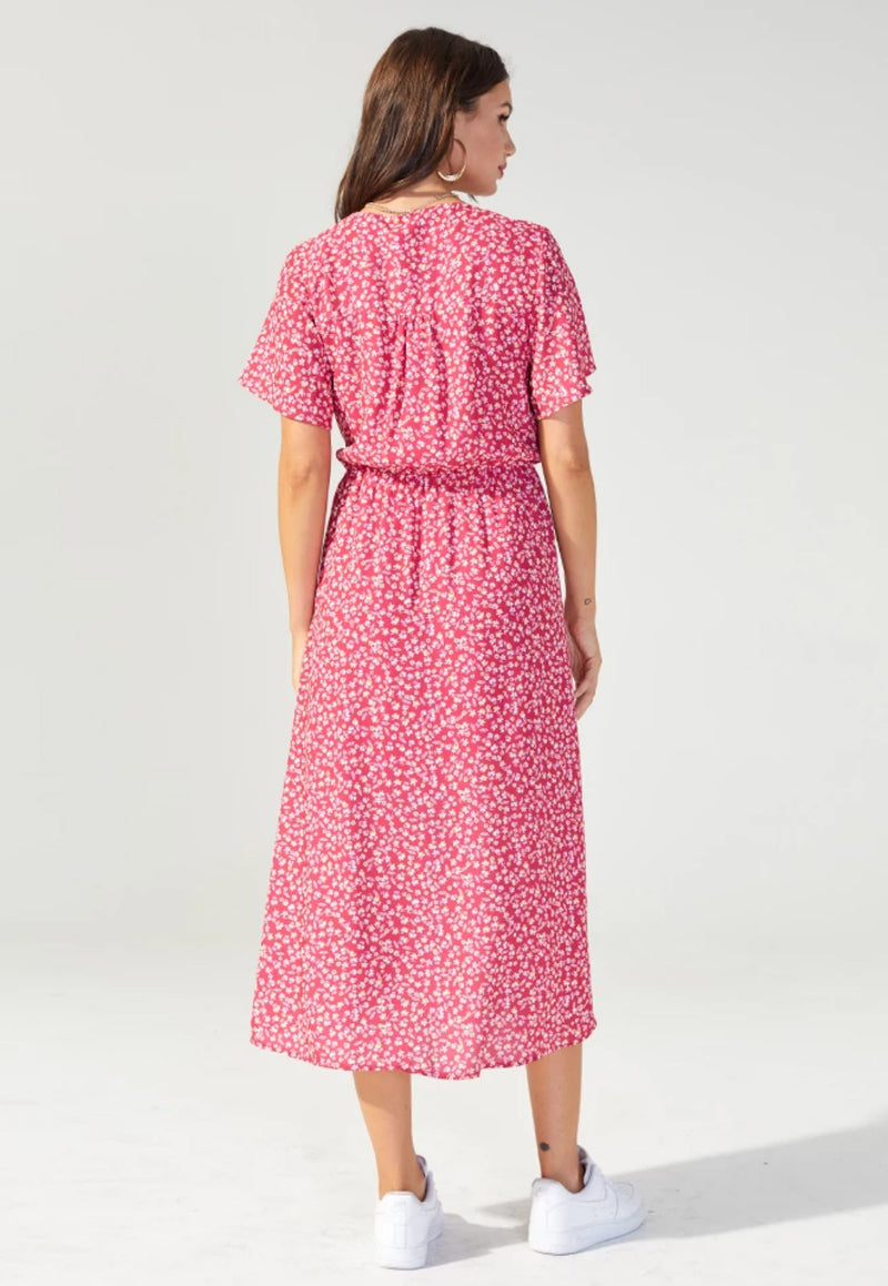 MINKPINK Eclipsed Heart Midi Dress
