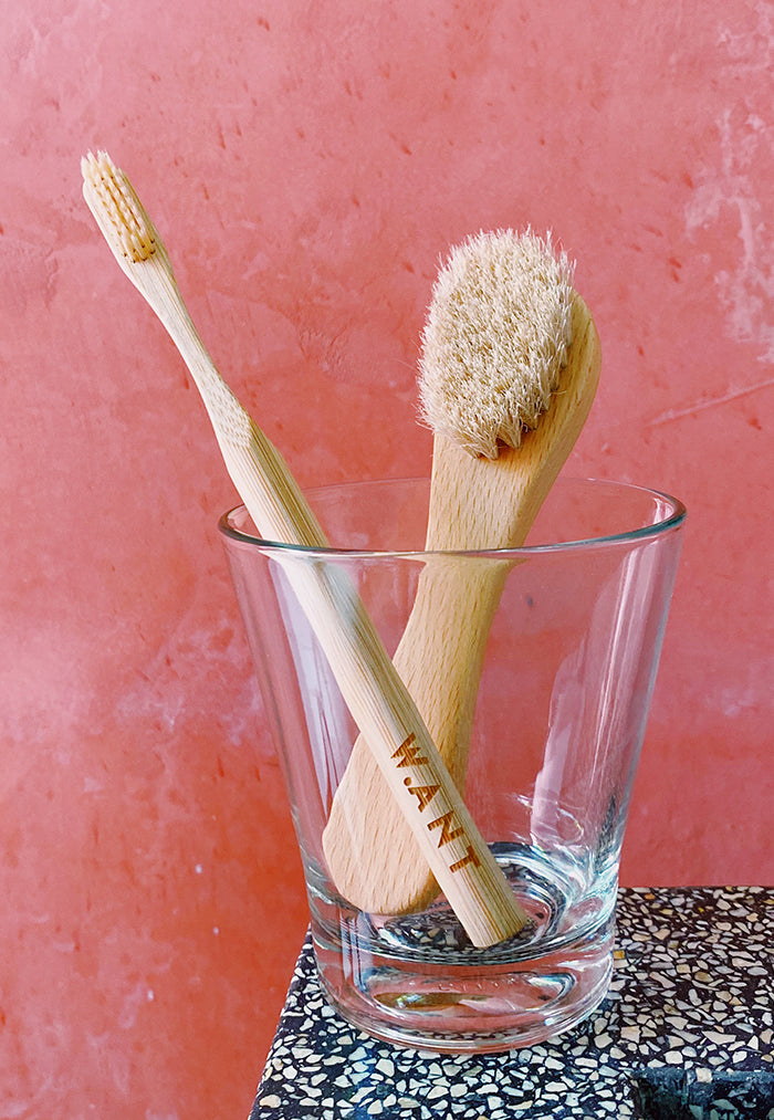 WANT Skincare Bamboo Toothbrush