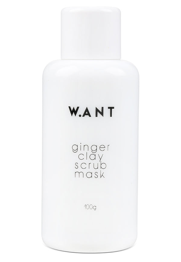 WANT Skincare Ginger Clay Scrub Mask