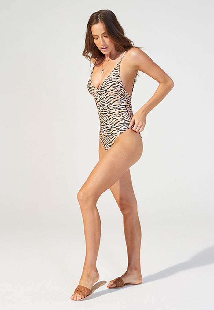 MINKPINK Endangered One Piece Swimsuit