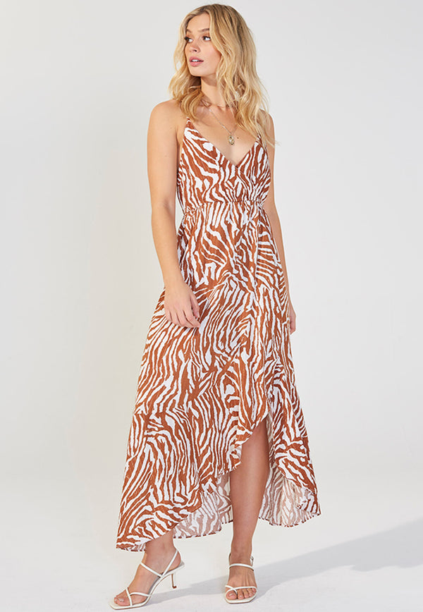 MINKPINK Young And Wild Midi Dress