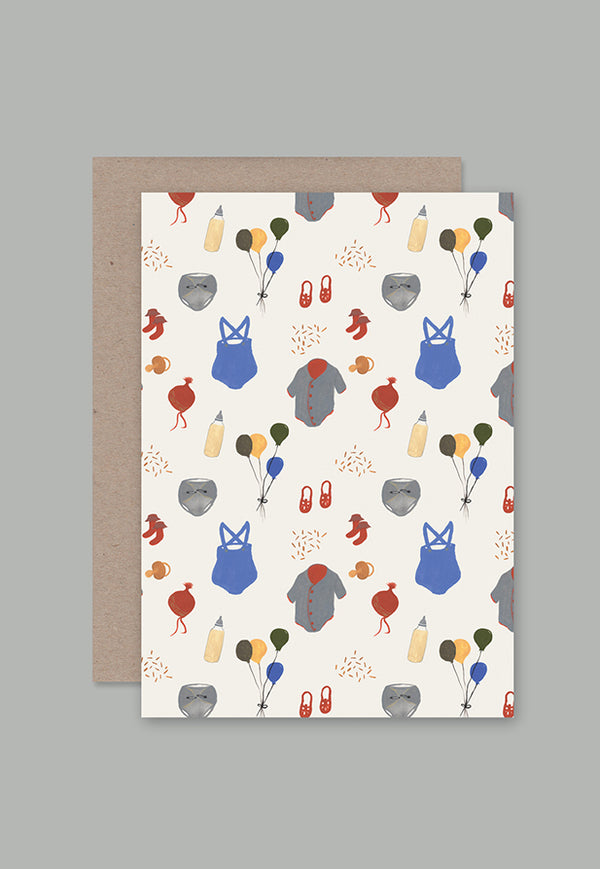 AHD Greeting Card - Baby Things