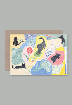 AHD Greeting Card - Cat Dream