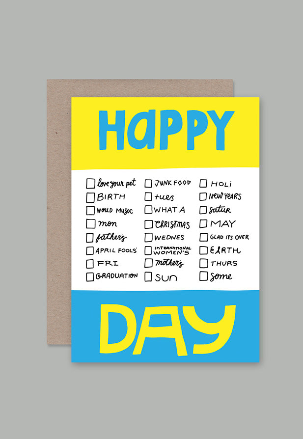 AHD Greeting Card - Happy Different Day