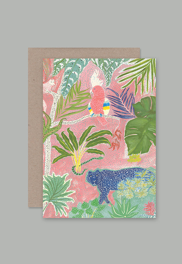 AHD Greeting Card - Jungle