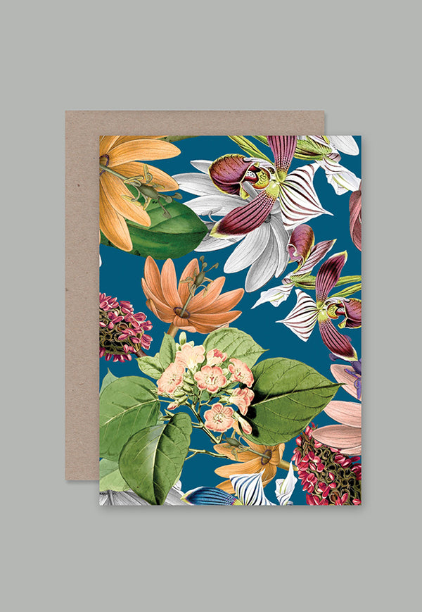 AHD Greeting Card - Jungle Dusk