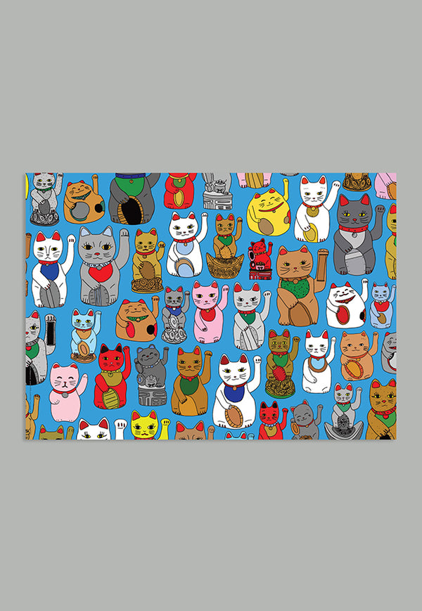 AHD Gift Wrap - Lucky Cats