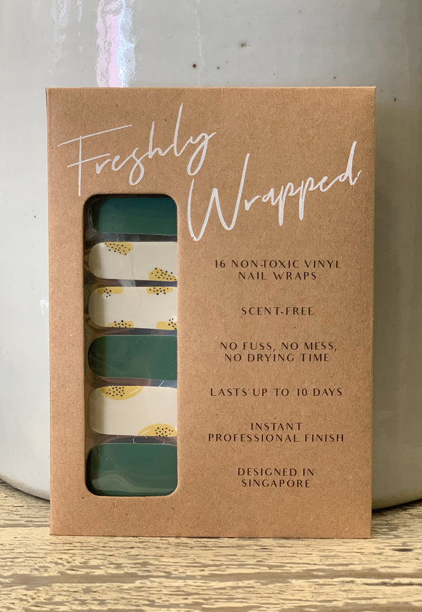 Freshly Wrapped Nail Wrap - All Thyme Favourite