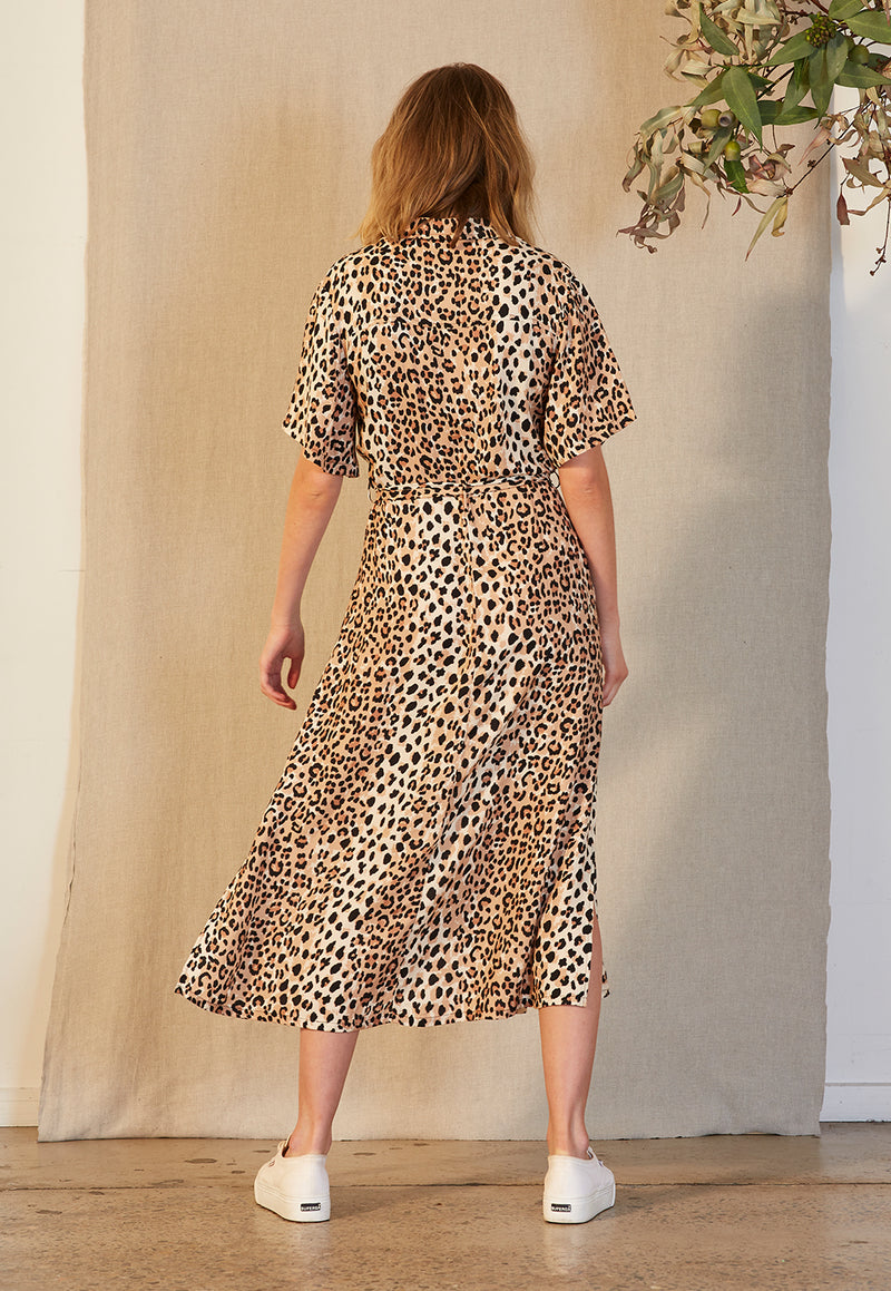 Staple the Label Animalier Dress