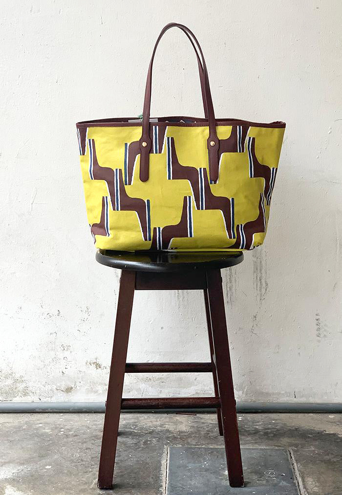 Nala Reversible Baise en Ville Bag - Parlimen Yellow