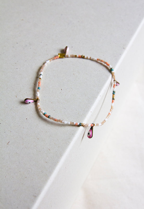 Envet Beaded Anklet