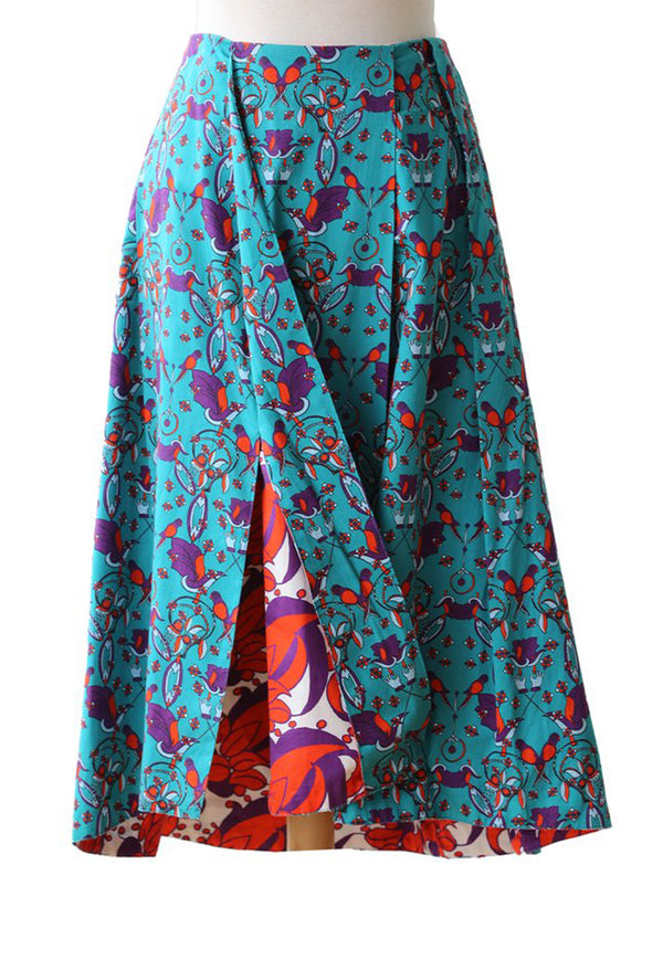 Nala Bella Skirt - Parrot Green