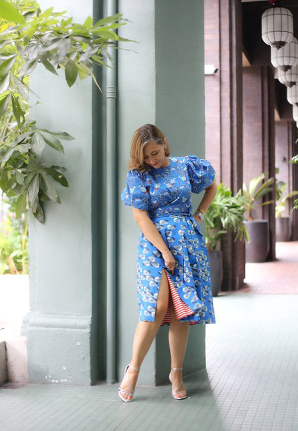 Nala Bella Skirt - Nest Blue