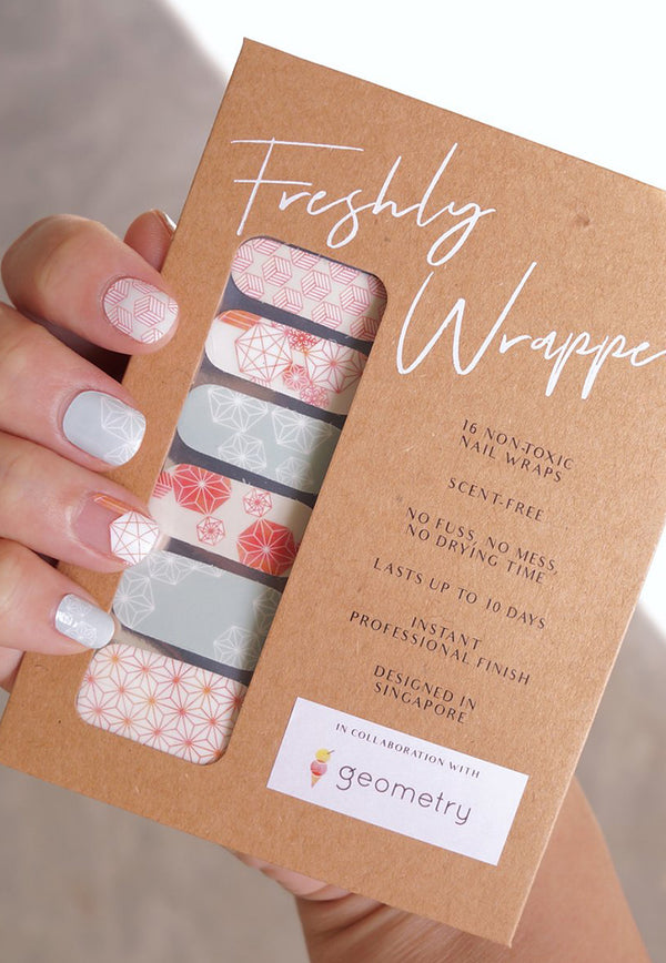 nail sticker floral
